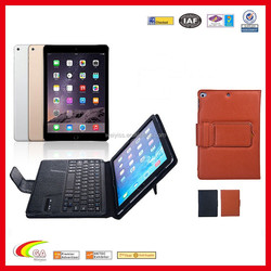 2 & 1 Bluetooth Keyboard Case, PU Leather Case Cover Removable Wireless Keyboard for iPad Air