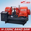 automatic metal cutting sawing machine H-330NC band saw machine