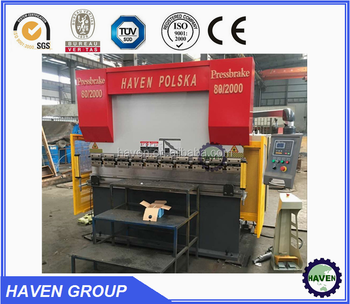 Hydraulic press brake metal sheet bending machine hydraulic bending machine WC67Y-40/1350