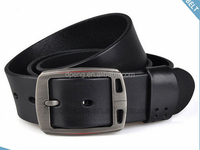 2014 fashion smart casual pu leather with copper lock strong leather belts