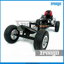 49cc gas powered skateboards with 4 off road wheel