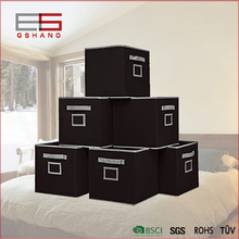 Home Boxes Folding Fabric Office Cube Organizer Boxes Containers