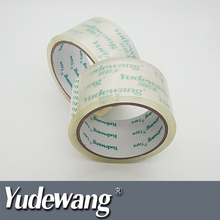 bopp clear custom printed packing tape roll
