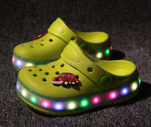 LED Light Up EVA Clogs,LED Shoes,LED Clogs Shoes for kids