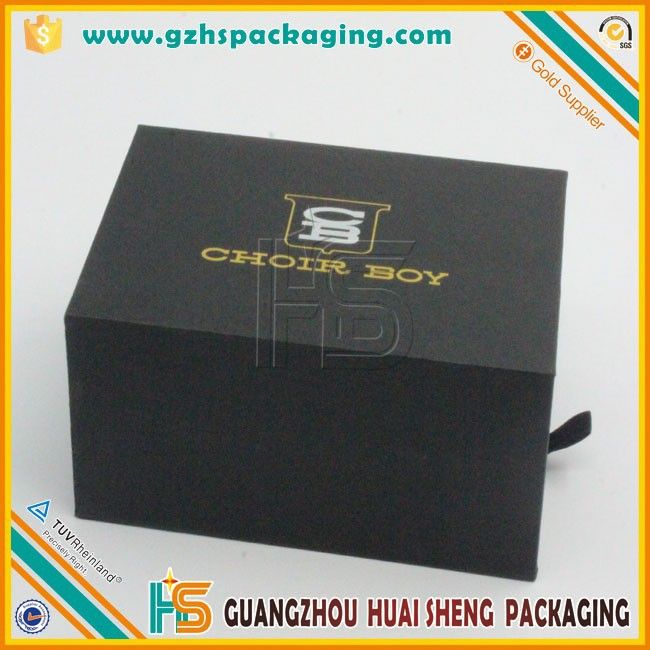Tie box with pull-out drawer/ Cardboard tie gift packaging boxes/ Tie packing box with drawer for wholesale