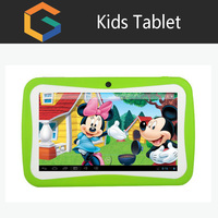 Christmas gift Hot selling lovely 7 inch Quad Core Kids Tablet, ecducation tablet