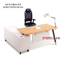modern executive wooden office desk,executive office desk,office desk drawer lock with pvc edging