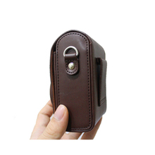 Wholesale Universal PU leather micro camera bag holder case vertical style camera protective case