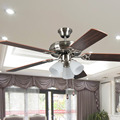 52inch Decorative Lighting Ceiling fans, Certified by ETL,European style