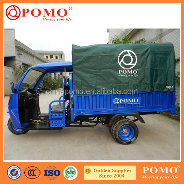 China Made Hot Selling Gasoline Front Loading Cargo Tricycle, Cargo Bike Tricycle, Three Wheeler Motorcycle