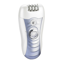Safe rechargeable lady epilator and lady shaver 4 in 1 set