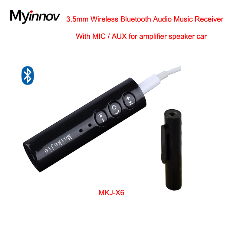 Audio 3.5mm jack aux wifi wireless transmitter receiver for smartphone