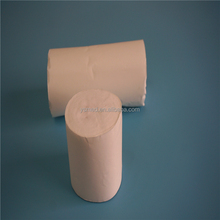 Absorbent hydrophilic bleached cotton roll for medical use