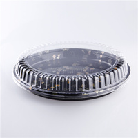 Sushi Container Plastic Party Tray In Packaging Box