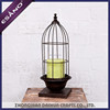 New arrival bird cage wrought iron candle holders