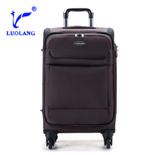 good quality new design travel bags with wheels trolley luggage sets real button trolley suitcase