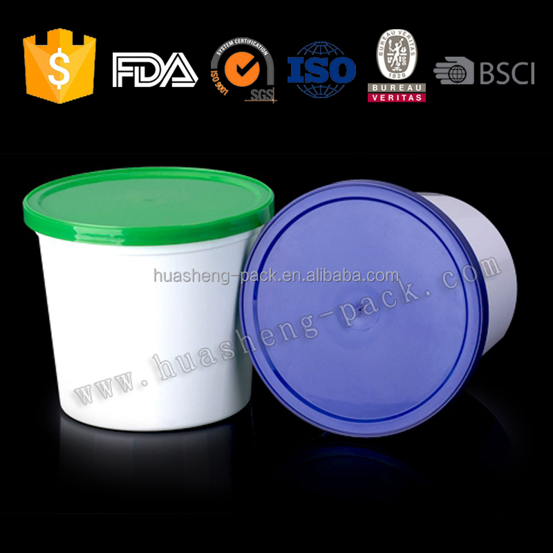 PP Plastic Candy Food Container with lid,plastic tub with lid