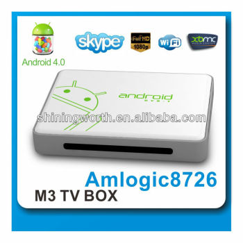 2014 Cheapest hotsell air remote amlogic8726-m3 android 4.0 tv box