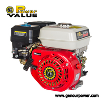 Made in China 168f-1 6.5hp gasoline engine, gasoline engine gx200 6.5hp for sale