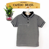 OEM wholesale fashion summer new baby boy kid clothing polo t shirt