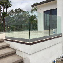 high quality 14mm 1/2 inch tempered laminated glass railing price