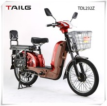 Eco-frendly Powerful electric bicycle for passenger and goods for sales