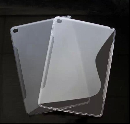 Factory Price For iPad Air 2 Gel Soft S-line TPU Case Cover MIx Colors
