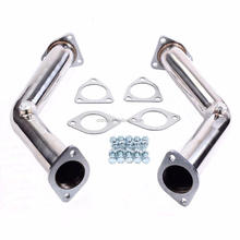 Professional Made High Perfoemance For Infiniti G35 FX35 Decat Non Reson Straight Stainless Steel Exhaust Manifold Pipe Style 35