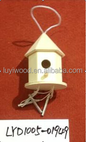 Cheap Bird Cages Small Wood Craft Bird Houses For Sale