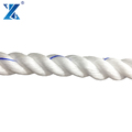 Wholesale durable elongation 6% UV stabilized 3 strand polypropylene rope