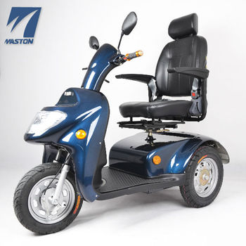 Folding three wheel electric mobility scooter for elder for Folding motorized scooter for adults