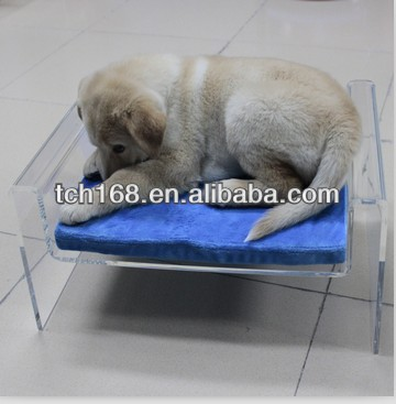 acrylic pet bed