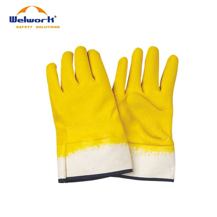 Factory Price Colorful Customized electrical rubber hand gloves