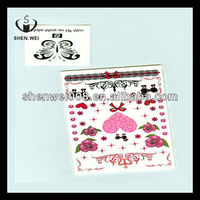 strass body diamante mini heart tattoos