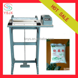 semi automatic foot sealer with cutter