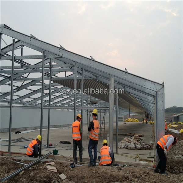 Low Price Light Frame Steel Pig Farm House