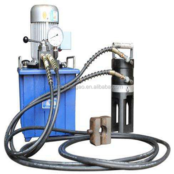 Hydraulic Steel Rebar Extrusion Cold Press Machine Extruding Machine