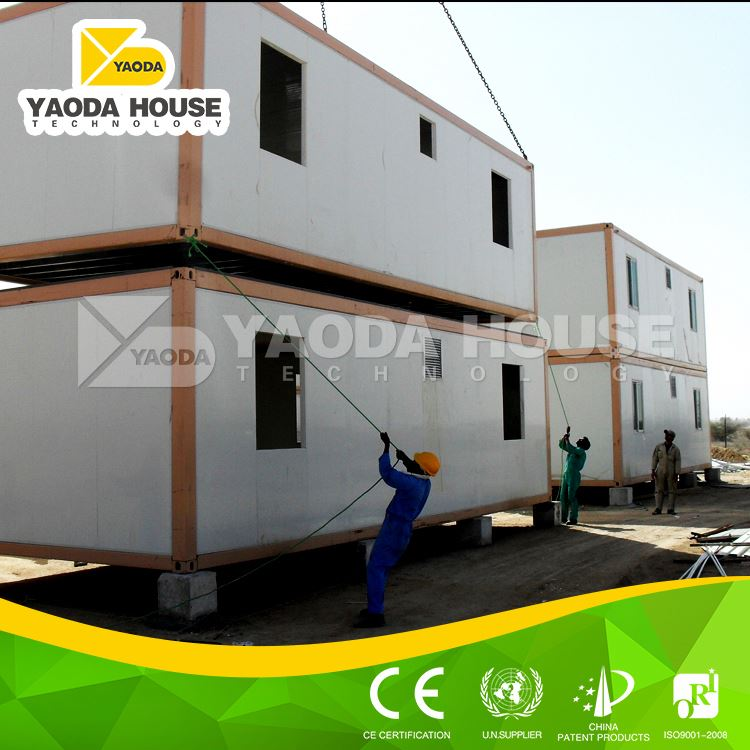 Most popular prefabricated residential container houses