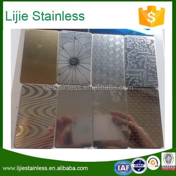 acier inoxydable tle gaufre dcoratif pour mur de la cuisine et le cabinet