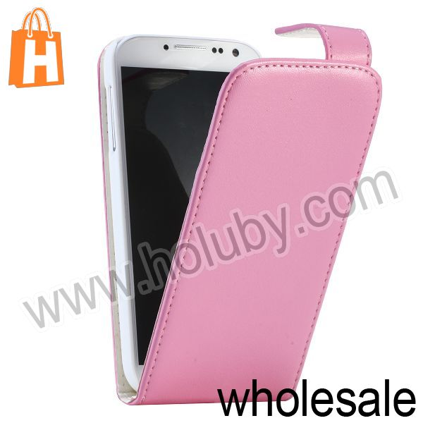 Magnetic Up and Down Flip Leather Case for Samsung Galaxy S4 i9500 i9505