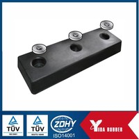 Factory customized rubber dock bumper with sea water proof/Impact resistant rubber dock bumper