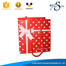 High demand products to sell fancy santa claus paper gift bag from chinese wholesaler