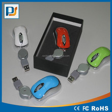 USB Mini 3D Wired Optical Mouse