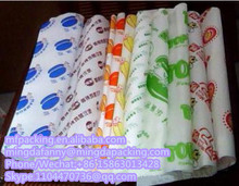 flexo print pe coated greaseproof wrappinng paper