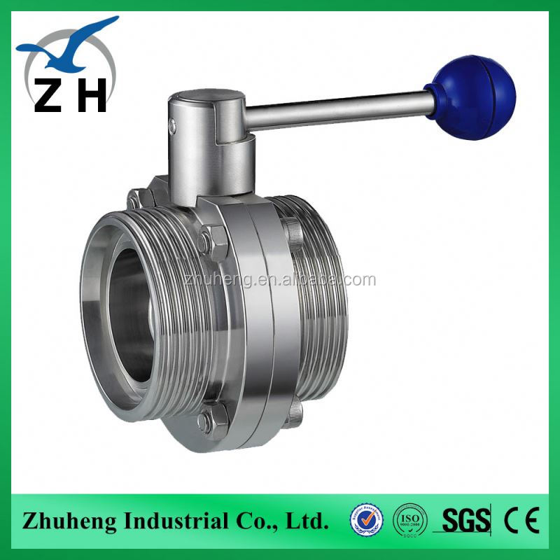 High quality SS316 lp butterfly valve