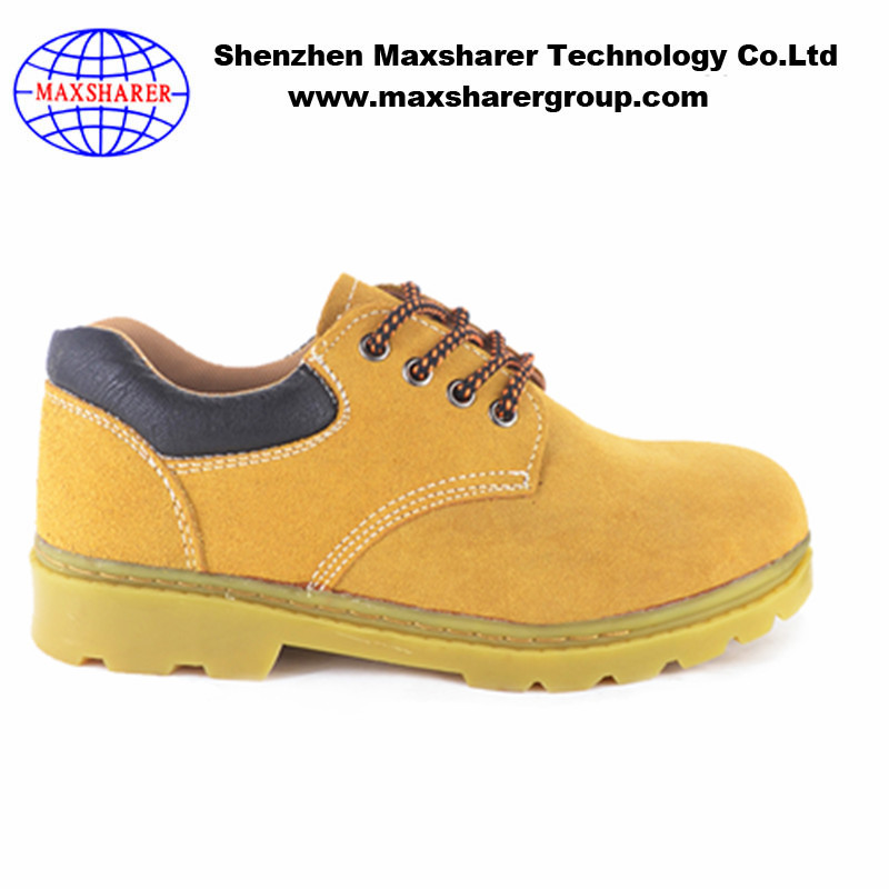 2017 new arrival Industrial Leather woodland Safety Shoes with CE Certificate