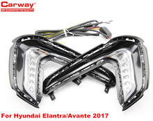 ELANTRA AVANTE 2017 Fog Light Lamp Day Run Light for Hyundai elantra Avante light