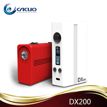 Cacuq supply hotcig newest product dx200 watt box mod with evolov dna200 original chip