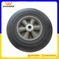 "10""x3"" solid rubber powder wheel 10 inch"