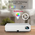 Hot seller !!! PTP100S Android smart Blu-ray full hd 3D led projector